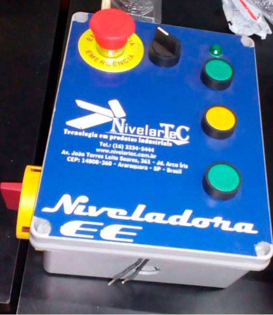 Niveladora de doca elétrica