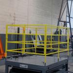 Plataforma elevatória tesoura