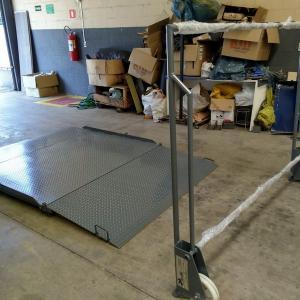 Rampa móvel de carga